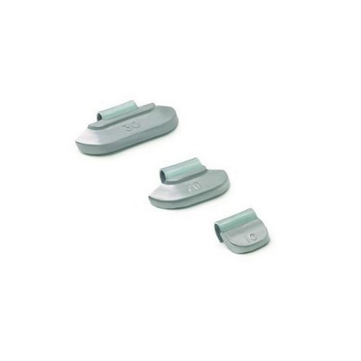 Набор грузиков для штампованных дисков со скобой  100 шт.  Clipper 0225
